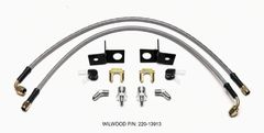 Wilwood Flexline Kit Rear 2015-18 Mustang