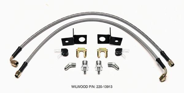 Wilwood Flexline Kit Rear 2015-18 Mustang