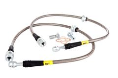 StopTech Stainless Steel Front Brake Lines 2015-17 Ford Mustang GT/ECO