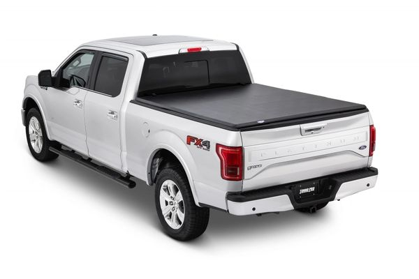 Tonne Tri-Fold Tonneau Cover 2015-19 Ford F150 Extra Short Bed 5'5""