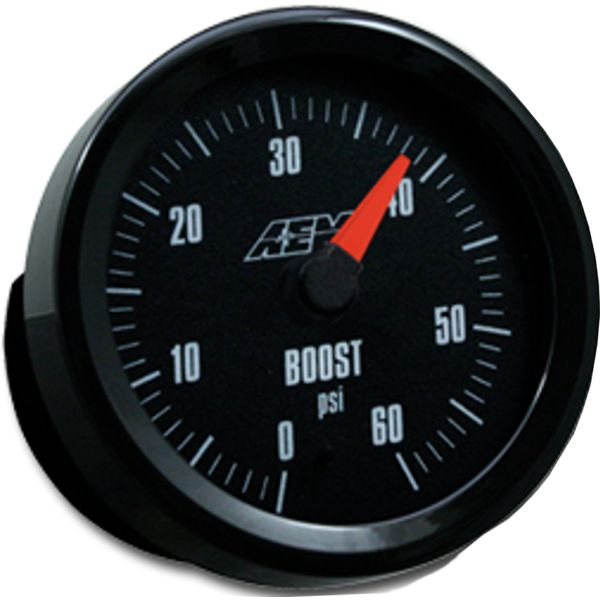 AEM Analog 0 to 60psi Boost Gauge