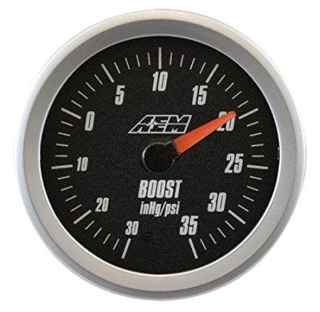 AEM Analog -30inHg to 35psi Boost Gauge