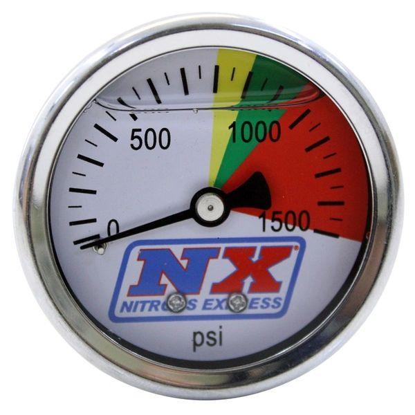 NITROUS EXPRESS 0-1500 PSI Pressure Gauge