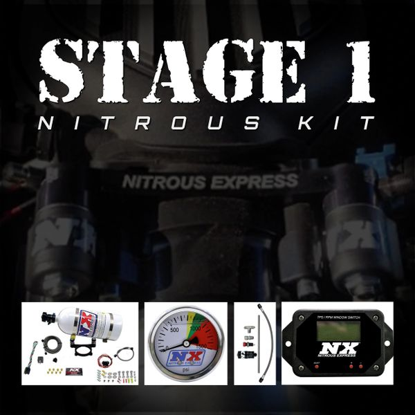 NX Stage 1 Kit (35-200HP) - 2011-Up 5.0 COYOTE