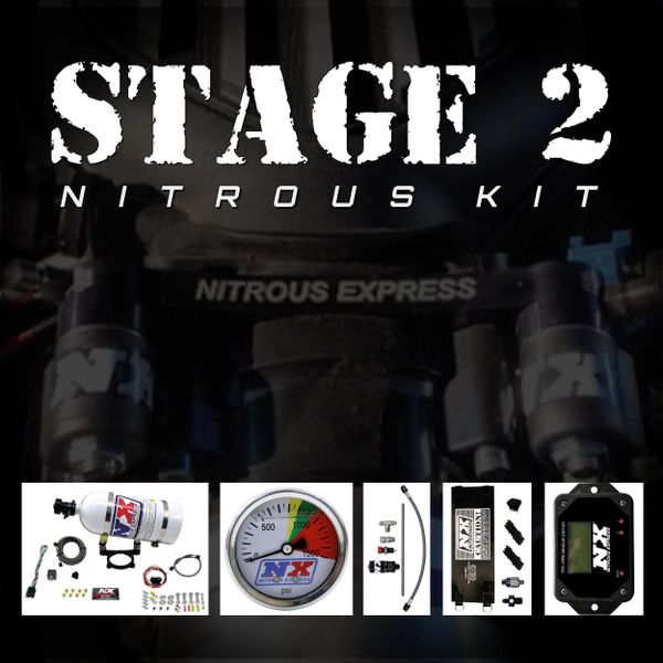 NX Stage 2 Kit (35-200HP) - 2011-Up 5.0 COYOTE