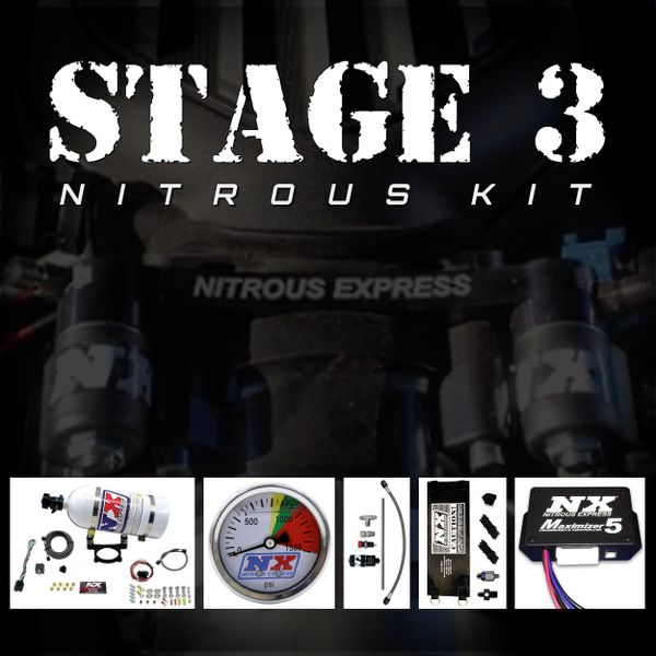NX Stage 3 Kit (35-200HP) - 2011-Up 5.0 COYOTE