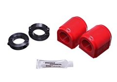Energy Suspension 2015-16 Ford Mustang 32mm Front Sway Bar Bushings - Red/Black
