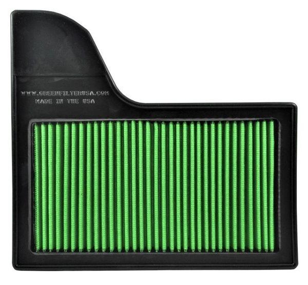 GREEN High-Flow Drop In Air Filter - 2015-2018 Mustang