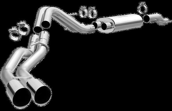 MAGNAFLOW - Dual Rear SIde Exit - 2015-2020 F150 5.0L