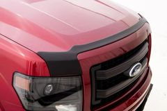 AVS Aeroskin Low Profile Hood Shield - Matte Black 2011-14 Ford F-150 (Excl. Raptor)