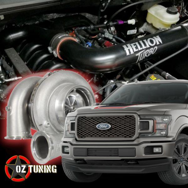 HELLION Twin Turbo System - 2015+ F150 5 0L