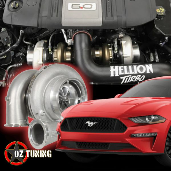 HELLION Twin Turbo System - 2018 Mustang GT