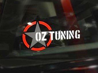 Oz Tuning Window Decal
