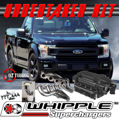 UNDERTAKER KIT 2 - Whipple 2.9L Supercharger Stage 2 - 2018+ F150 5.0L