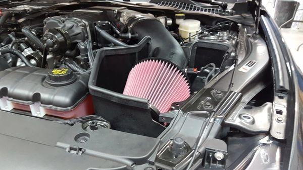 JLT (ROUSH/VMP SUPERCHARGED) Intake Kit - 2015-2017 Mustang GT 5.0L