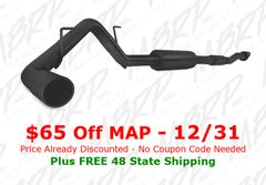 MBRP Black Series - Single Rear Side Exit - 2011-2014 Ford F150 5.0L