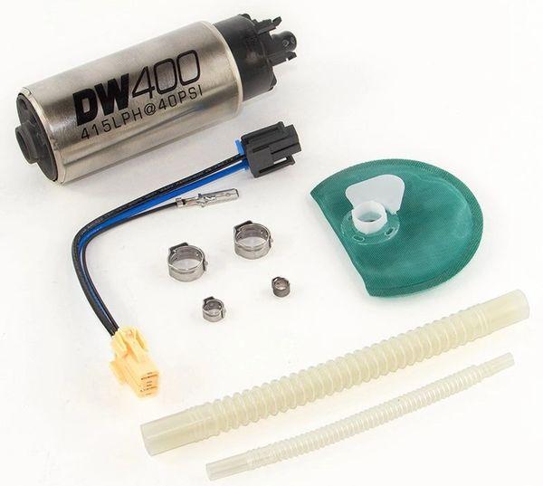 DeatschWerks DW400 In-Tank Fuel Pump w/Install Kit - 2011-2014 F150/Mustang
