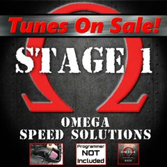 Omega Speed Solutions STAGE 1 - w/o Device - 2011-2014 F150 5.0L