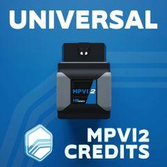 HP Tuners MPVI2 Universal Credits