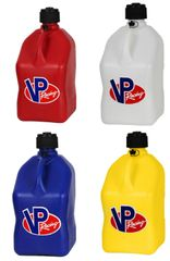 VP RACING 5 Gallon Square Motorsport Containers (4 PACK)