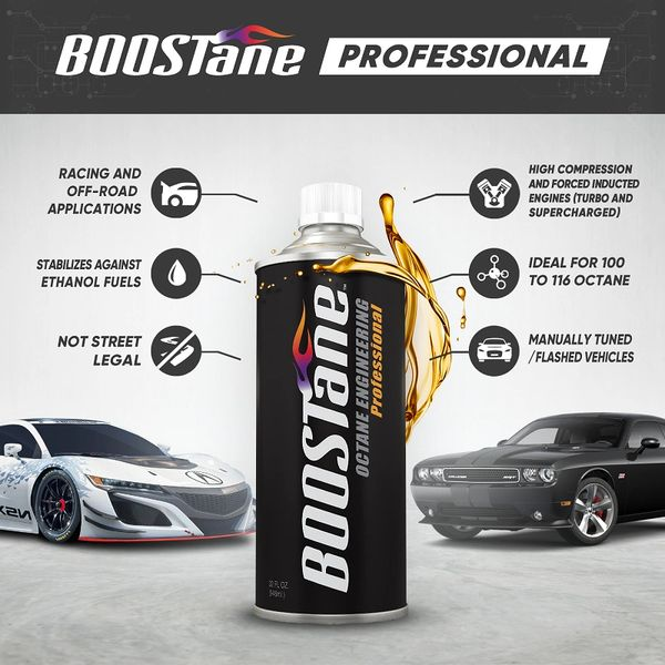 BOOSTane Professional Racing Octane Booster