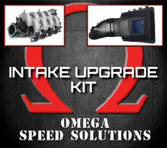 Omega Speed Solutions - Air Intake Upgrade Kit - F150's 5.0L