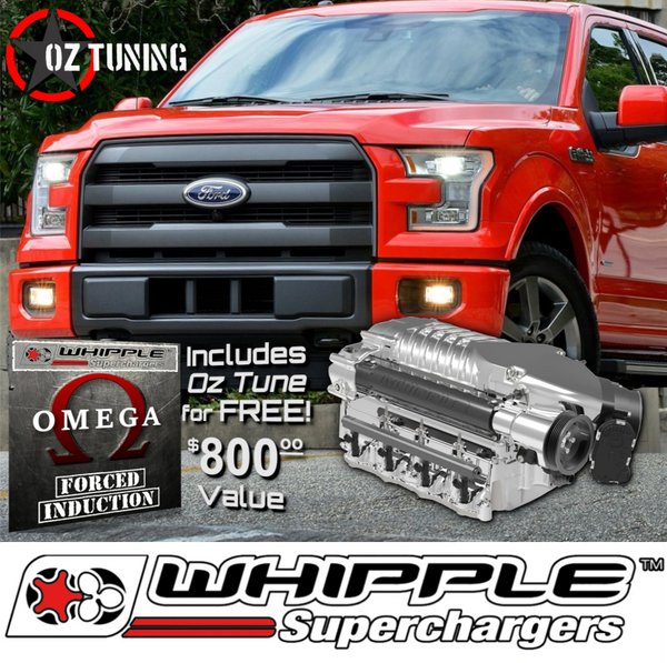 Whipple 2.9L Supercharger - 2015-2017 F150 5.0L