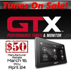 SCT GTX Performance Tuner & Monitor - 12-17 F150 & Mustang
