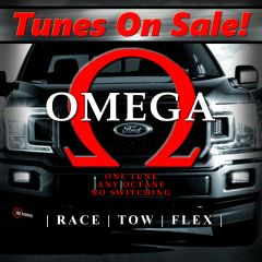2018-2020 F150 5.0 - Omega Tune (TUNE ONLY - for HP Tuners) - Basic Mods