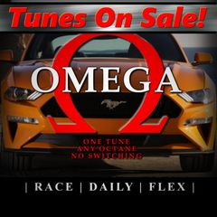 2018-2020 Mustang GT 5.0 - Omega Tune (TUNE ONLY - for HP Tuners) - Basic Mods