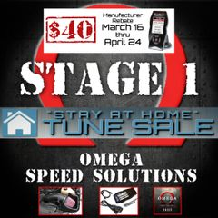 Omega Speed Solutions STAGE 1 - 2011-2014 F150 5.0L