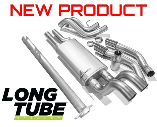 LTH (Long Tube Headers) True Dual Cat Back Exhaust System - 2015-2020 Ford F150 5.0L