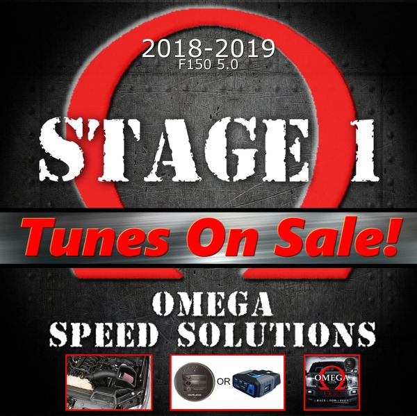 Omega Speed Solutions STAGE 1 - 2018-2019 F150 5.0L