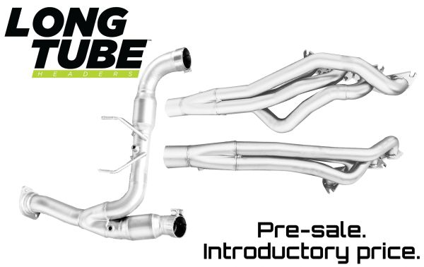 LTH (Long Tube Headers) & Catted Connector Pipes - 2015-2020 F150 5.0L