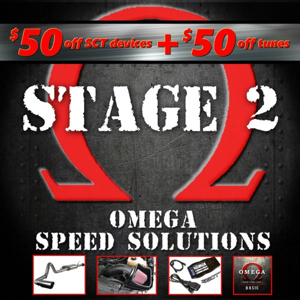 Omega Speed Solutions STAGE 2 - 2011-2014 F150 5.0L