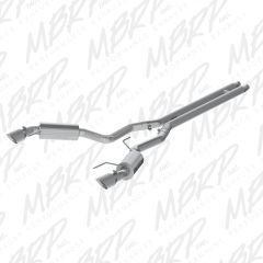 "MBRP Installer Series 3"" Cat-Back - STREET VERSION - 2015-2017 Ford Mustang GT 5.0L"