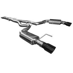 "KOOKS OEM to 3"" Cat-Back Exhaust w/ X-Pipe & Black Tips - 2015-17 Mustang GT CONVERTIBLE 5.0L"
