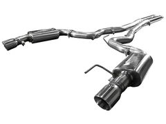 "KOOKS OEM to 3"" Cat-Back Exhaust w/H-Pipe & Polished Tips - 2015-17 Mustang GT CONVERTIBLE 5.0L"