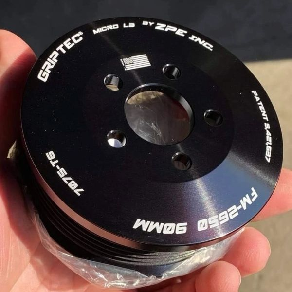 GripTec® FMS Ford-Roush TVS R2650 Pulley Ø 90MM L3 6 Rib