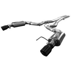 "KOOKS OEM to 3"" Cat-Back Exhaust w/ H-Pipe & Black Tips - 2015-17 Mustang GT CONVERTIBLE 5.0L"