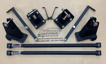 BWoody Traction Bar Kit - 2018+ F-150