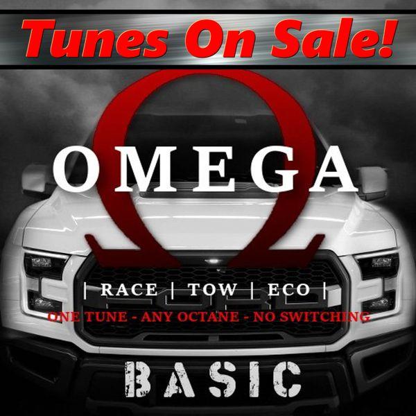 15-17 F150 5.0 - Omega Tune - Basic Mods