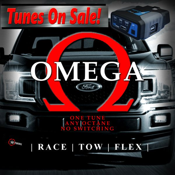 2018-2020 F150 5.0 - Omega Tune & HP Tuners RTD Interface - Basic Mods