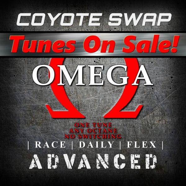 """Coyote Swap"" (w/Gen 2 Control Pack) - Omega Tune - Advanced"
