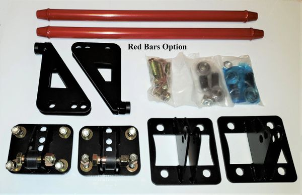 VAS Specialties Traction Bars -Ford F-150 2011-2014 (RED)