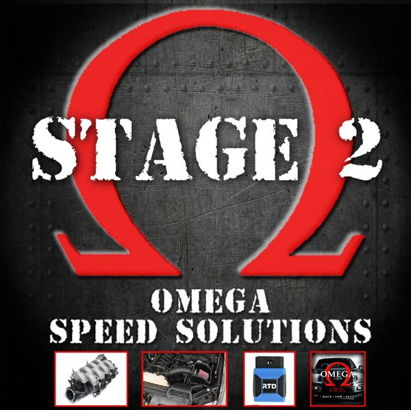 Omega Speed Solutions STAGE 2 - 2018-2020 F150 5.0L