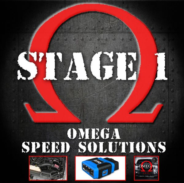 Omega Speed Solutions STAGE 1 - 2018-2020 F150 5.0L
