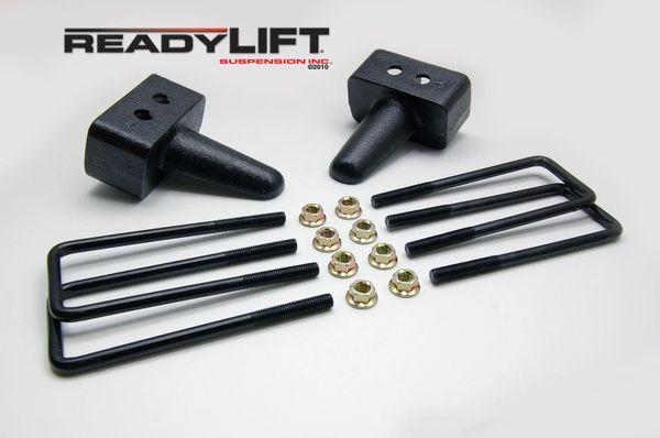 READY LIFT REAR BLOCK 4'' KIT for 2004-2019 F150 2WD/4WD