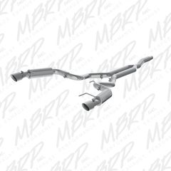 """MBRP XP Series 3"""" Cat-Back - RACE VERSION - 2015-2018 Ford Mustang EcoBoost 2.3L"""