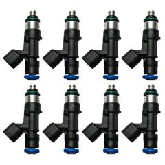FORD RACING 52LB/HR Fuel Injectors (With 12mm Spacers) 2011-2017 5.0L